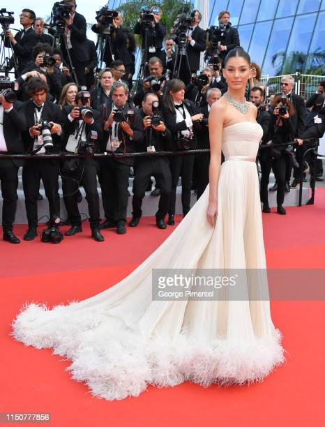 """Camila Morrone attends the screening of """"Once Upon A Time In Hollywood"""" during the 72nd annual Cannes Film Festival on May 21, 2019 in Cannes, France."""