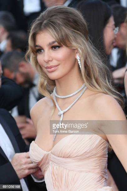 """Camila Morrone attends the """"The Beguiled"""" screening during the 70th annual Cannes Film Festival at Palais des Festivals on May 24, 2017 in Cannes,..."""