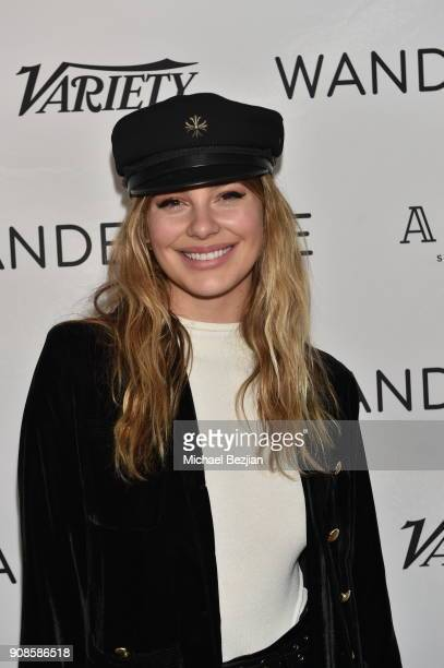 Camila Morrone attends WanderLuxxe House with Apex Social Club presents Augustine Frizzell's NEVER GOIN' BACK premiere party during the 2018 Sundance...