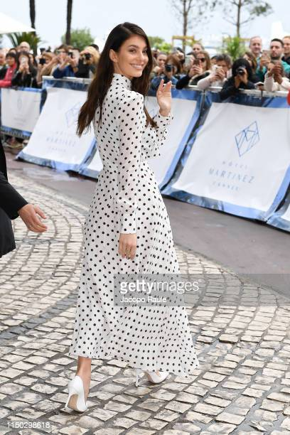 Camila Morrone is seen during the 72nd annual Cannes Film Festival at on May 19 2019 in Cannes France