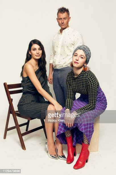 Camila Morrone James Badge Dale and director Annabelle Attanasio of the film 'Mickey and the Bear' pose for a portrait at the 2019 SXSW Film Festival...