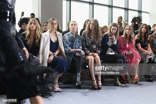 Camila Morrone Sistine Stallone Princess MariaOlympia of Greece and Denmark Coco Konig Laura Love Harley VieraNewton and Emily Ratajkowsk attend the...