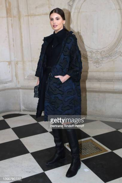 Camila Queiroz attends the Dior Haute Couture Spring/Summer 2020 show as part of Paris Fashion Week on January 20 2020 in Paris France