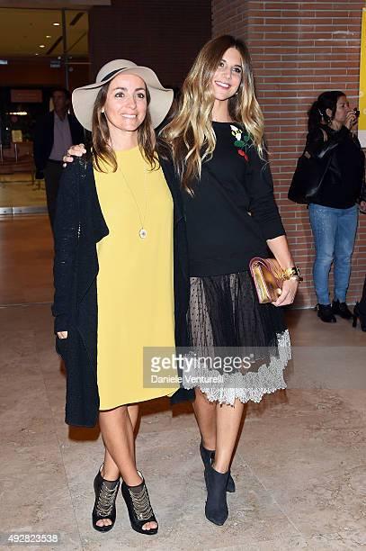 Camila Raznovich and Nicoletta Romanoff attend a photocall for 'Era D'Estate' during the 10th Rome Film Fest at Auditorium Parco Della Musica on...