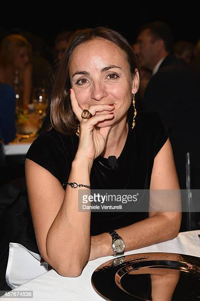 Camila Raznovich attends Un'Altra Storia Charity Event Benefiting Doppia Difesa during the 9th Rome Film Festival at Capitol Club on October 22 2014...