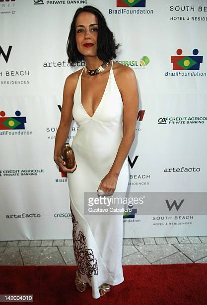 Camila Sarpi attends Brazil Foundation Gala at W South Beach on March 27 2012 in Miami Beach Florida