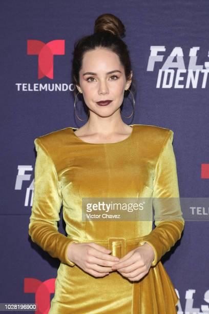 Camila Sodi attends Falsa Identidad Telemundo series premiere at Argos Comunicacion on September 6 2018 in Mexico City Mexico