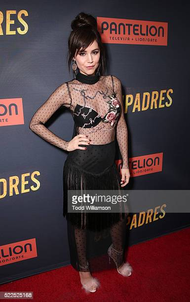 Camila Sodi attends Pantelion's 'Compadres' US Premiere on April 19 2016 in Los Angeles California