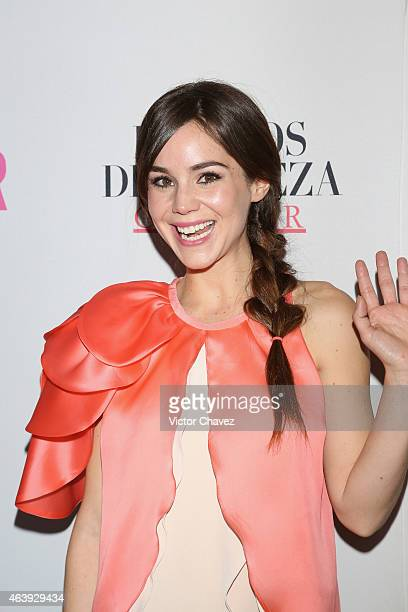 Camila Sodi attends premios de belleza Glamour 2014 at salon Mayita on February 19 2015 in Mexico City Mexico