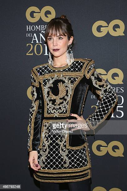 Camila Sodi attends the GQ Mexico Men of The Year 2015 awards at Live Aqua Bosques hotel on November 4 2015 in Mexico City Mexico