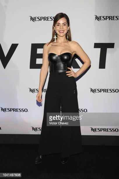 Camila Sodi attends the Nespresso Vertuo launch on September 26 2018 at Piacere in Mexico City Mexico