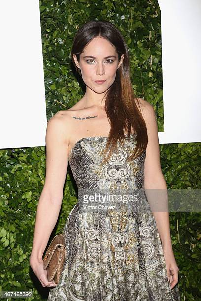 Camila Sodi attends the Vanity Fair México magazine launch at Casa Del Lago on March 24 2015 in Mexico City Mexico