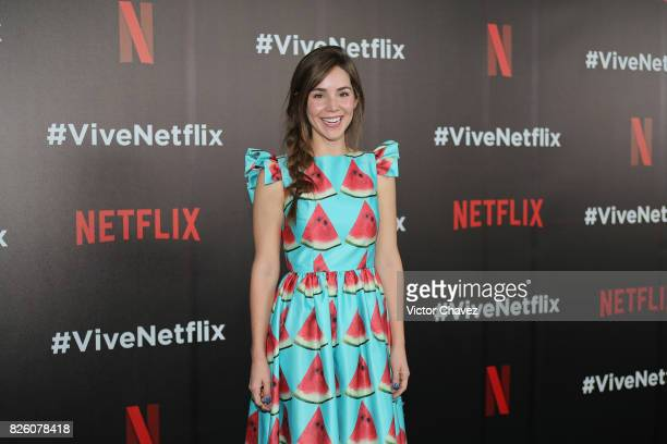 Camila Sodi attends the Vive Netflix 2017 at Museo Casa de la Bola on August 2 2017 in Mexico City Mexico