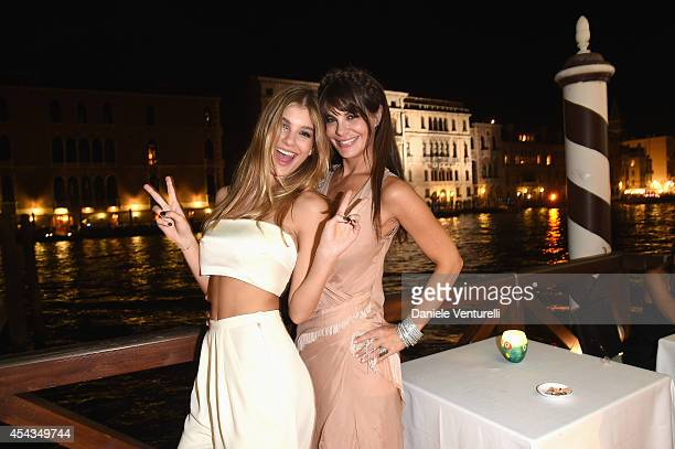 Camila Sola and her mother Lucila Sola attend the Exclusive Dinner hosted by Andrea Iervolino and Monika Bacardi during the 71st Venice Film Festival...