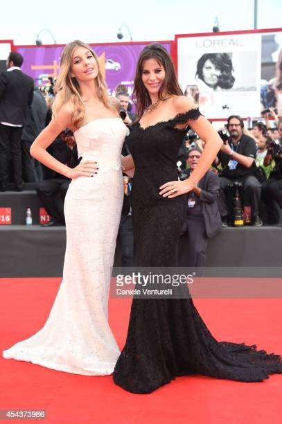 Camila Sola and Lucila Sola attend 'Manglehorn' Premiere during the 71st Venice Film Festival at Sala Grande on August 30 2014 in Venice Italy