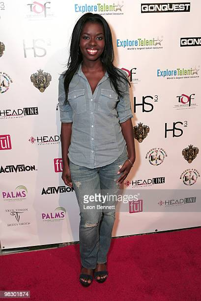 Camile Winbush arrives at Boulevard3 on April 6 2010 in Hollywood California