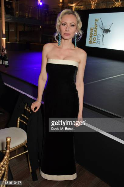 """Camilla al-Fayed attends """"Borne To Dance"""", a special charity performance in aid of Borne, at Paul Hamlyn Hall, The Royal Opera House on March 19,..."""