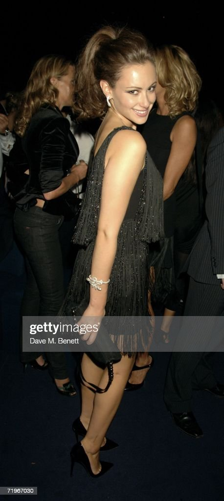 Camilla Al-Fayed attends the fashion show and party to celebrate the launch of Emporio Armani RED collection, at Earls Court on September 21, 2006 in London, England.