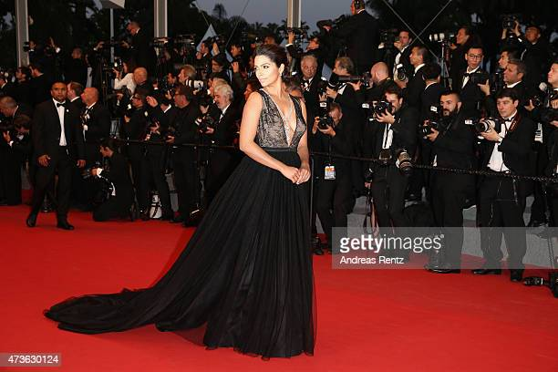 Camilla Alves attends the Premiere of The Sea Of Trees during the 68th annual Cannes Film Festival on May 16 2015 in Cannes France
