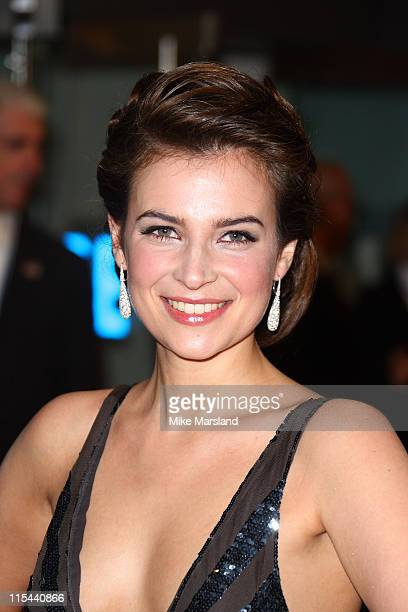 Camilla Arfwedson attends Cinema & Television Benevolent Fund Royal Film Performance 2008: A Bunch Of Amateurs at Odeon Leicester Square on November...