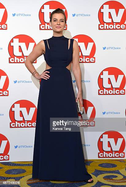 Camilla Arfwedson attends the TV Choice Awards 2015 at Hilton Park Lane on September 7 2015 in London England