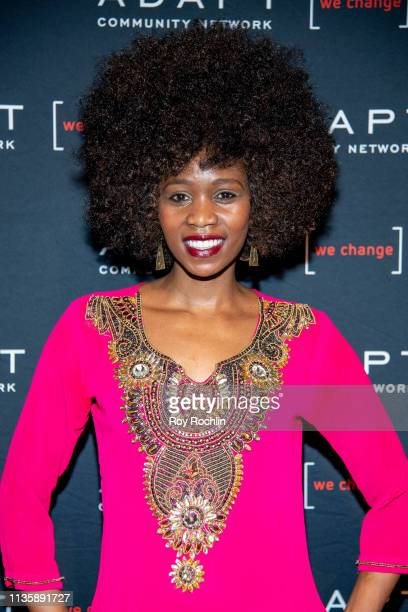 Camilla Barungi attends the 2019 Adapt Leadership Awards at Cipriani 42nd Street on March 14 2019 in New York City