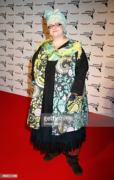 Camilla Batmanghelidjh attends the ICA annual ''Figures of Speech'' fundraising gala at The Brewery on March 26, 2009 in London, England.