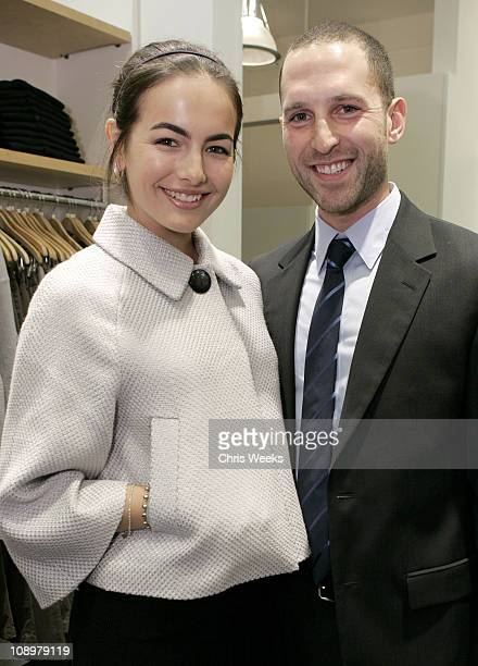 Camilla Belle and Blaine Zuckerman during Club Monaco Hosts Cashmere and Cocktails at Club Monaco in Beverly Hills CA United States