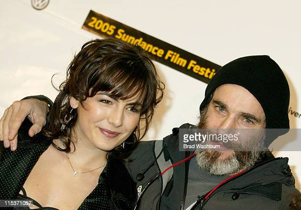 Camilla Belle and Daniel DayLewis during 2005 Sundance Film Festival 'The Ballad of Jack and Rose' Premiere at Eccles Center in Park City Utah United...