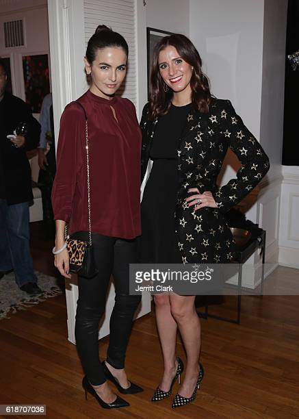 Camilla Belle and Kaily Westbrook attend The Art of Elysium celebrates HEAVEN 2017 at the Art Salon on October 27 2016 in Los Angeles California