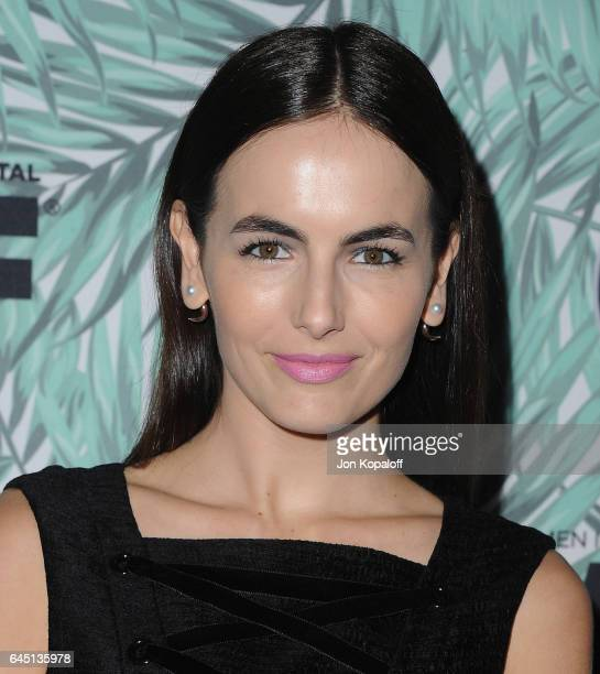 Camilla Belle arrives at the 10th Annual Women In Film PreOscar Cocktail Party at Nightingale Plaza on February 24 2017 in Los Angeles California