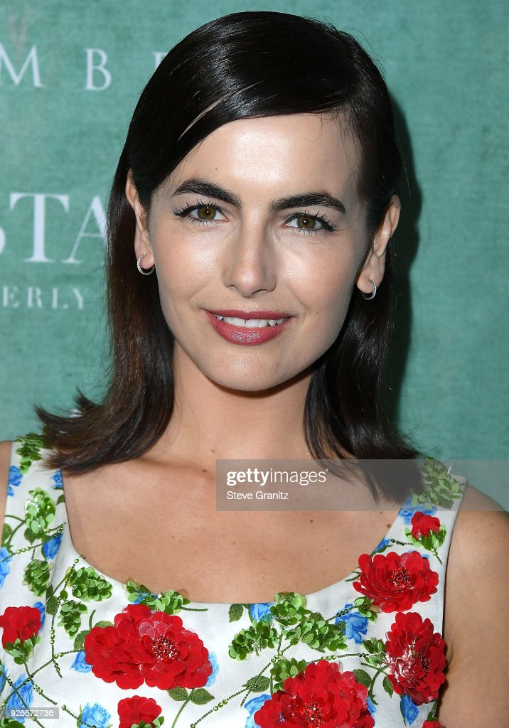 Camilla Belle arrives at the 11th Annual Celebration Of The 2018 Female Oscar Nominees Presented By Women In Film at Crustacean on March 2, 2018 in Beverly Hills, California.