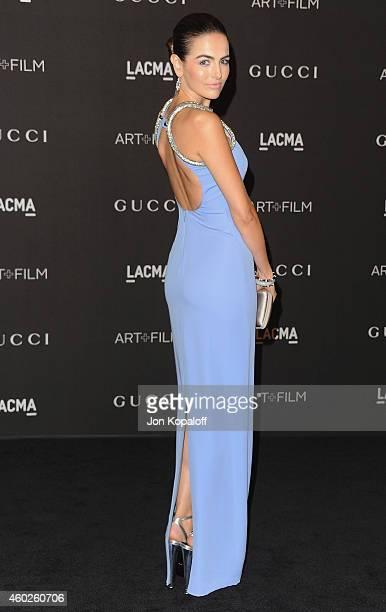 Camilla Belle arrives at the 2014 LACMA Art Film Gala Honoring Quentin Tarantino And Barbara Kruger at LACMA on November 1 2014 in Los Angeles...