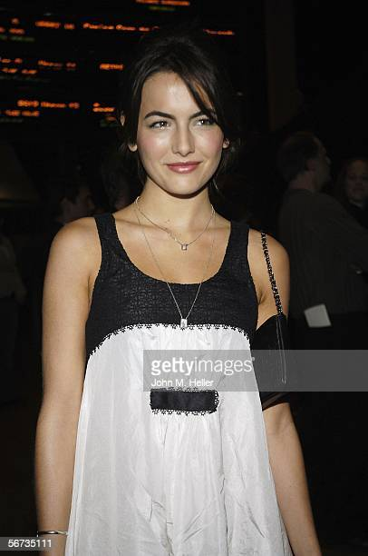 Camilla Belle arrives at the Arclight Cinemas in Hollywood for the premiere screening of When A Stranger Calls on February 2 2006 in Hollywood...