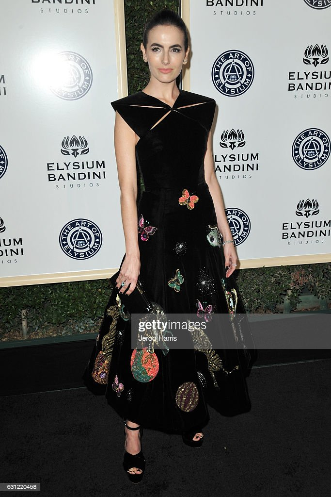 Camilla Belle arrives at The Art of Elysium presents Stevie Wonder's HEAVEN - Celebrating the 10th Anniversary at Red Studios on January 7, 2017 in Los Angeles, California.