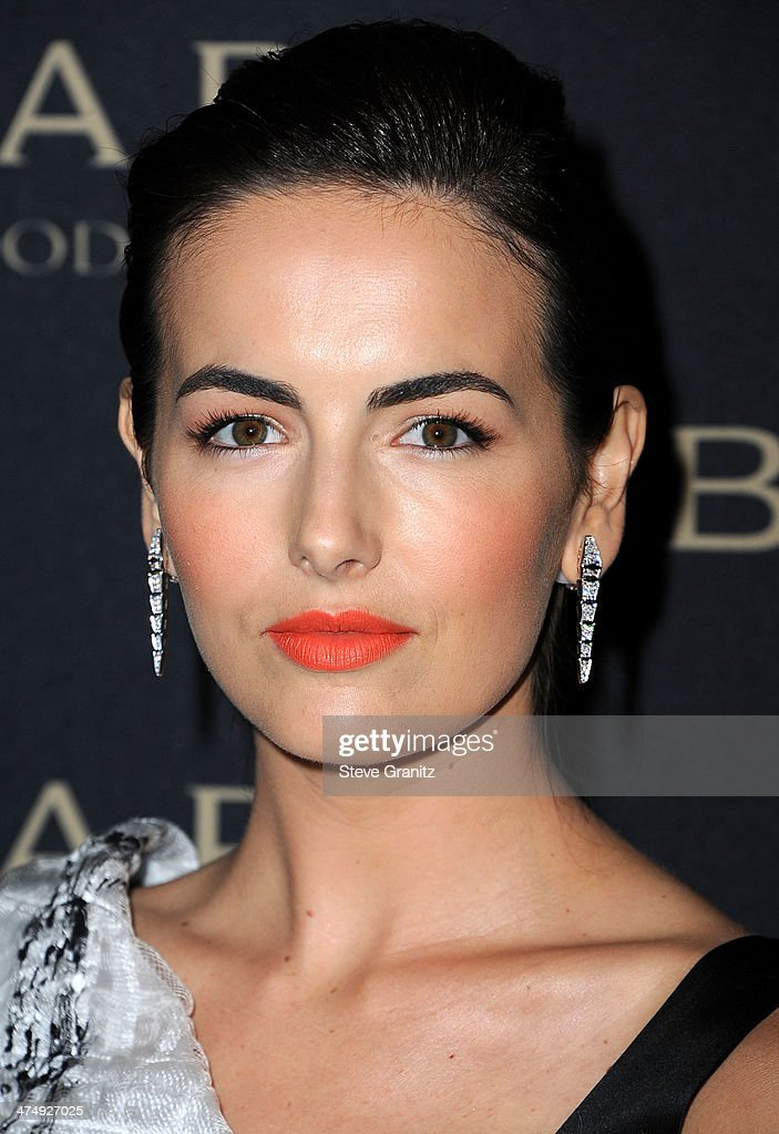 Camilla Belle arrives at the BVLGARI 'Decades Of Glamour' Oscar Party Hosted By Naomi Watts at Soho House on February 25, 2014 in West Hollywood, California.