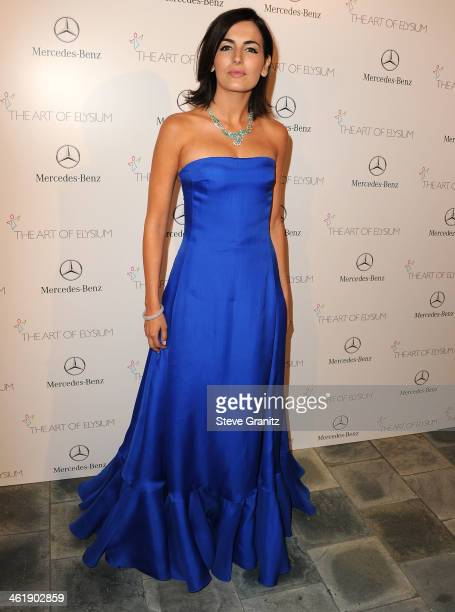 Camilla Belle arrives at the The Art of Elysium's 7th Annual HEAVEN Gala Presented By Mercedes-Benz on January 11, 2014 in Los Angeles, California.