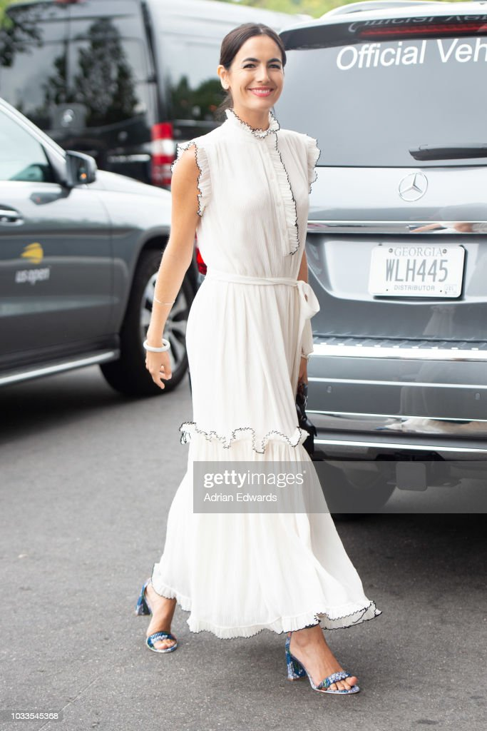 Camilla Belle at Day 13 of the US Open held at the USTA Tennis Center on September 8, 2018 in New York City.