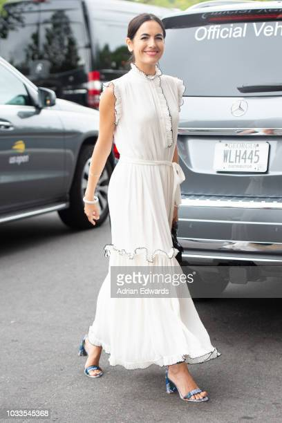 Camilla Belle at Day 13 of the US Open held at the USTA Tennis Center on September 8 2018 in New York City