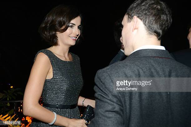 Camilla Belle attends An Evening Under The Stars Benefiting The LA Gay Lesbian Center on October 19 2013 in Los Angeles California