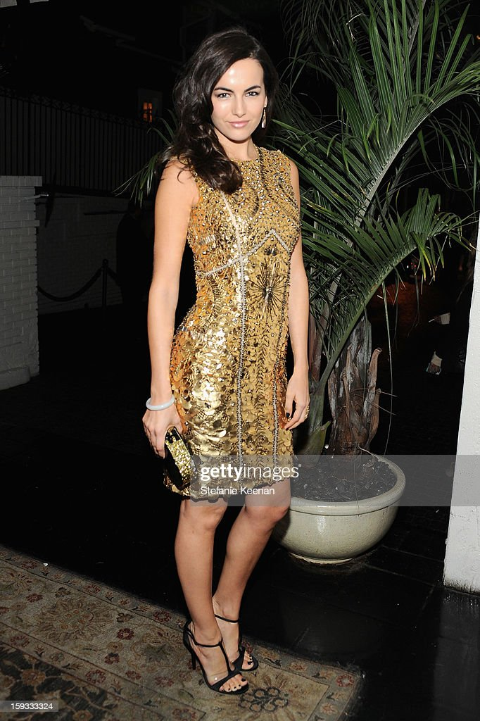 Camilla Belle attends Dom Perignon and W Magazine's celebration of The Golden Globes at Chateau Marmont on January 11, 2013 in Los Angeles, California.