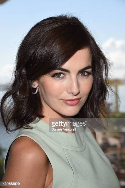 Camilla Belle attends 'In conversation with Gucci Creative Director Frida Giannini' a talk moderated by Harper's Bazaar at MAR Museum on May 30 2014...