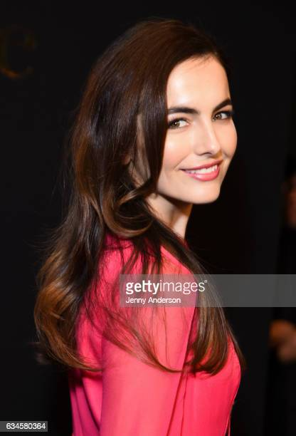Camilla Belle attends Kate Spade presentation during New York Fashion Week on February 10 2017 in New York City