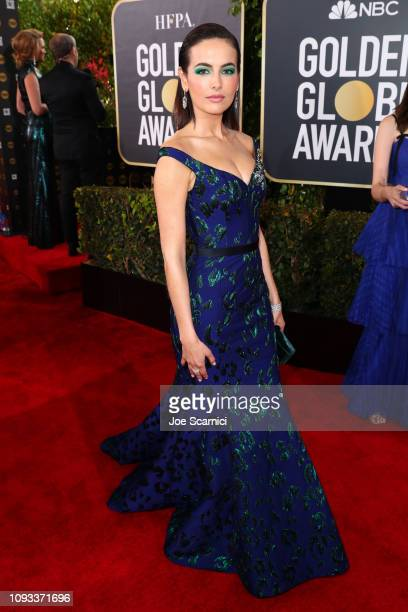Camilla Belle attends Moet Chandon at The 76th Annual Golden Globe Awards at The Beverly Hilton Hotel on January 6 2019 in Beverly Hills California
