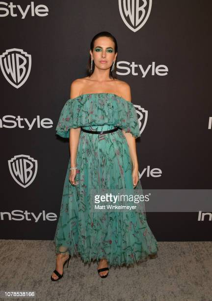 Camilla Belle attends the 2019 InStyle and Warner Bros 76th Annual Golden Globe Awards PostParty at The Beverly Hilton Hotel on January 6 2019 in...