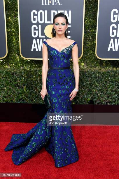 Camilla Belle attends the 76th Annual Golden Globe Awards at The Beverly Hilton Hotel on January 6 2019 in Beverly Hills California