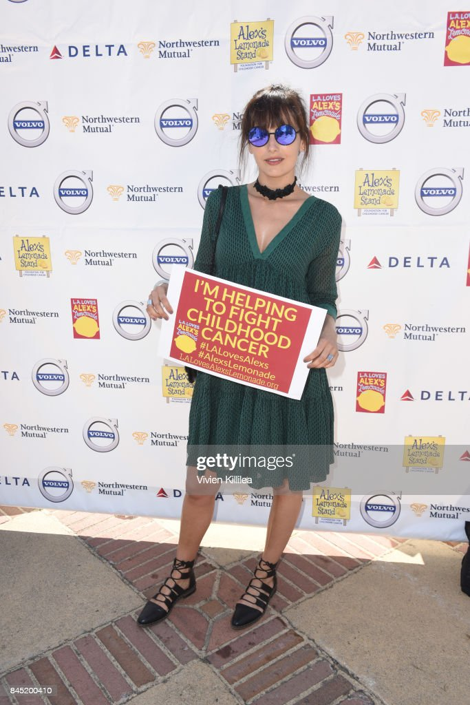 Camilla Belle attends the 8th Annual L.A. Loves Alex's Lemonade at UCLA Royce Quad on September 9, 2017 in Los Angeles, California.