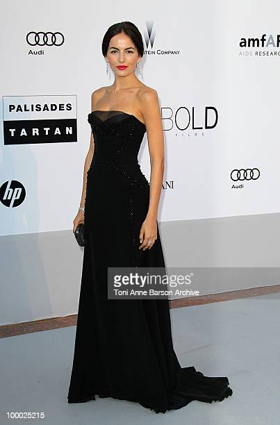 Camilla Belle attends the amfAR Cinema Against AIDS 2010 at the Hotel du Cap during the 63rd Annual Cannes Film Festival on May 20 2010 in Antibes...