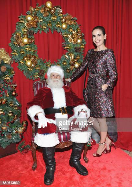 Camilla Belle attends the Brooks Brothers holiday celebration with St Jude Children's Research Hospital at Brooks Brothers Rodeo on December 2 2017...