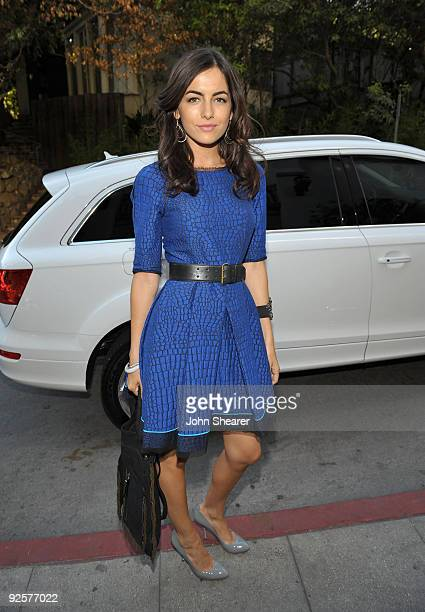 LOS ANGELES CA OCTOBER 30 Camilla Belle attends the CFDA/Vogue Fashion Fund Event at Chateau Marmont on October 30 2009 in West Hollywood California